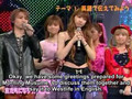 Morning Musume and Westlife on PopJam (subtitled)