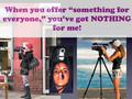 Videographers REBEL!!!