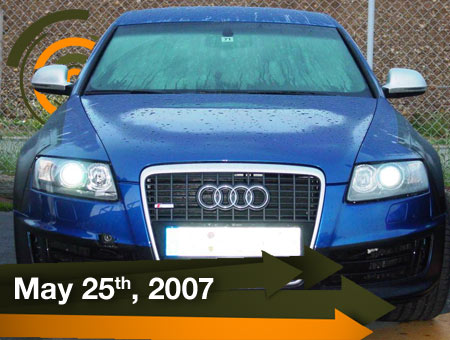 Audi RS6 Spy - Fast Lane Daily - 25May07