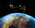 How the Hubble data reach us