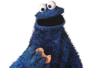 Cookie Monster Muppets Sesame Street Letter C