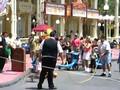 Playing on Main Street U.S.A. at Disney's Magic Kingdom