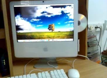 My iMac throw cd =o