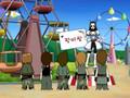 DBSK _ THSK in cartoon land