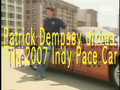 Patrick Dempsey takes the Indy 500 pace car for a spin