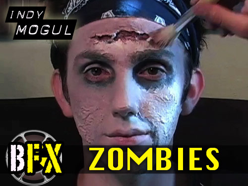 Backyard FX 4: How to turn someone into a Zombie