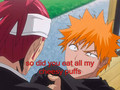 Renji's stolen cheesy puffs