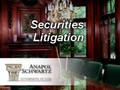 Securities Litigation: Information about Filing a Securities Lawsuit and Finding a Lawyer, Attorney