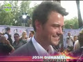 Josh Duhamel: 2007 MTV Movie Awards Red Carpet