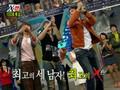 Xman 45 Junsu, Minwoo, Yunho dancing