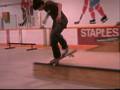skateboarding- old fooling around footy