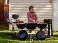 BullsEye BBQ Drummer