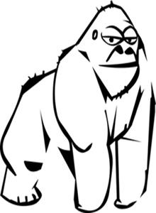 Por un puñado de lentejas, Gorilla trip
