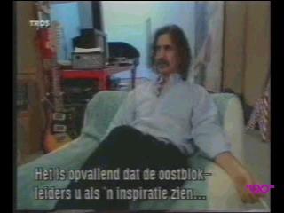 Zappa- TROS Dutch tv2  1991 With Ivo Niehe