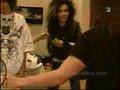 Bill Kaulitz juggling bananas