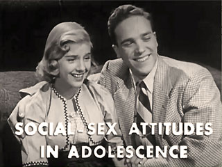 Social Sex Attitudes In Adolescence