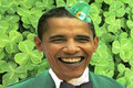 Barack the Shamrock O'Bama?
