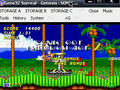 Gens32 Emulator! playing sonic 2 (freelinks)