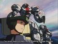 SUMOs vs Turn X Gundam