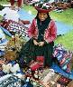 Inca Market in Peru