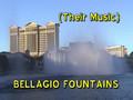 Bellagio Fountains Daytime Performance, Vegas