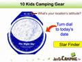 10 Kids Camping Gear