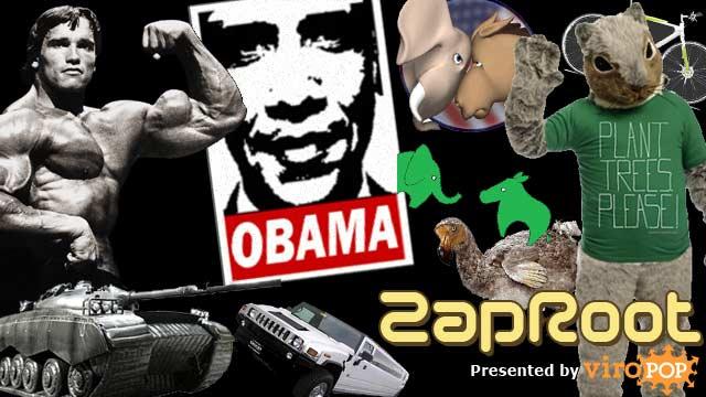 ZapRoot 031 | Schwarzenegger's Army Tank