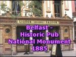 Belfast Historic Pub, Northern Ireland, United Kingdom