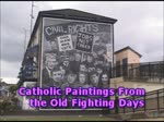 Derry/Londonderry Catholic Political Art, Northern Ireland, U.K.