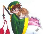 Sakura n Syaoran- Take Sakura's breath away