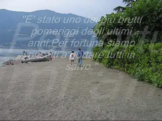 Bellano - La regata della paura 25.06.05