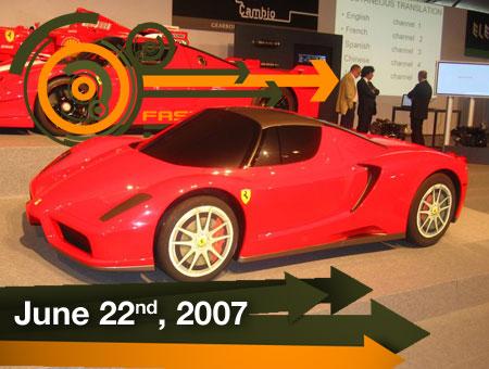 Ferrari Enzo Hemi Hybrid - FastLaneDaily - 22Jun07