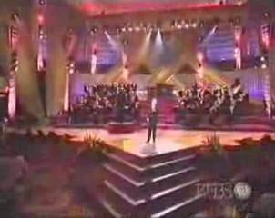 Michael Junior sings You'll Never Walk Alone