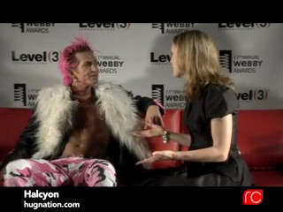 Halcyon interviwed at Webby Awards
