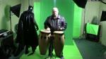 Batman Vs Conga player
