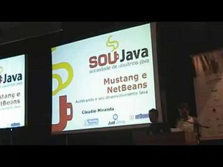 NetBeans e Mustang - Claudio Miranda