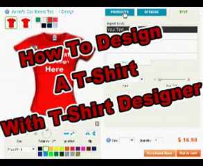 Design Your Own T-Shirts!