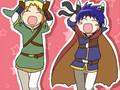 Link, Ike, Zack, and Cloud Caramelldansen(good one).wmv