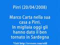 (20/04/2008) Marco Carta nella sua casa a Pirri