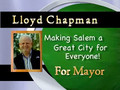 Lloyd Chapman for Mayor