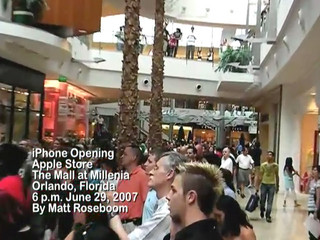 iPhone launch at The Apple Store in Orlando