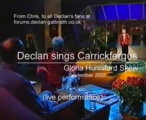 Declan Galbraith / Carrickfergus