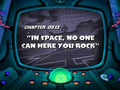 In Space, No One Can Hear You Rock