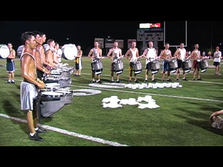 Percussion: Flam I Am - The Cavaliers 2006