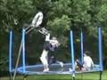 Trampoline dunk