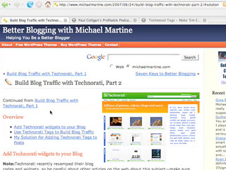 Technorati Tagger For Your Blogs