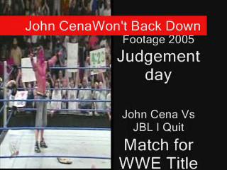 John Cena Won't Back Down