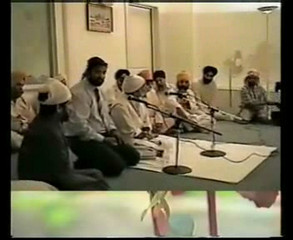 His Holiness Gohar Shahi in Sikh Temple