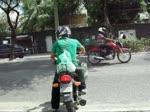 Imprudência no trânsito