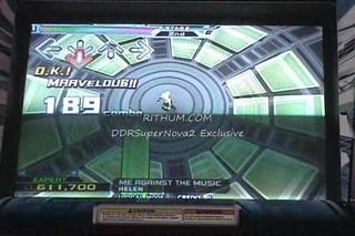 DDR SuperNOVA2 Rithum.com Exclusive - Me Against the Music
